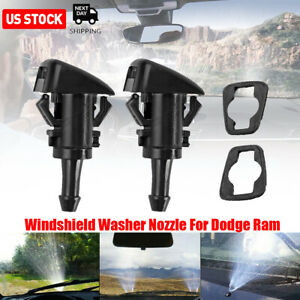 Windshield Washer Fluid Nozzle For Dodge Ram 1500 2500 3500 2011 2017 5113049aa