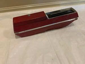 1967 1969 Olds Cutlass Console Oldsmobile Automatic Floor Shift Center Red