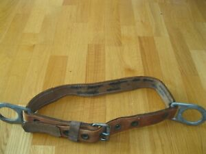 Vintage Klein Tools Pole Climbing Belt size Medium Model 5442 date 3 78