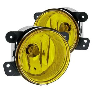 For Jeep Wrangler 2007 2017 Lumen 86 1001573 Yellow Factory Style Fog Lights