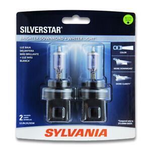 Sylvania Silverstar High Beam Low Beam Headlight Bulb For Ford F 350 Super Ss