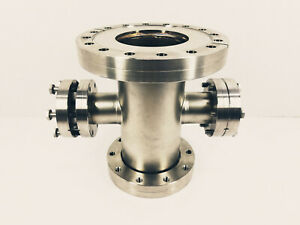Nor Cal Vacuum Uhv Conflat Reducer Cross Cf600 To Cf463 X Cf2 75 read Details