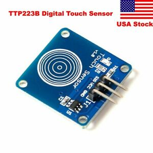 Us Ship Ttp223b Digital Touch Sensor Capacitive Touch Switch Module For Arduino