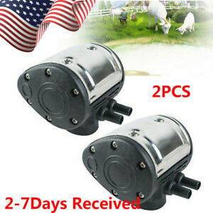 From Us 2pc L80 Pneumatic Pulsator For Cow Milker Milking Machine Dairy Farm Fda