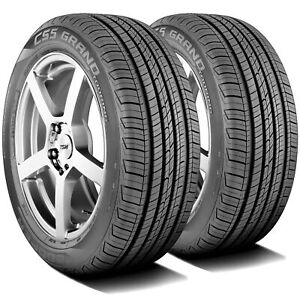 2 New Cooper Cs5 Grand Touring 225 60r16 98t As All Season A s Tires