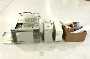 Hewlett Packard Hp 5890 Gas Chromatograph 5965b Infrared Detector 5972 5965