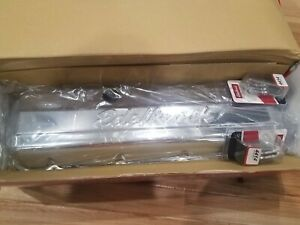 Edelbrock 4480 Big Block Chevy Signature Series Short Chrome Valve Covers New