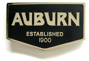 Auburn Automobile Co Emblem Large 3 Speedster 851 852 866 1933 1934 1935 1936