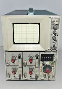Vintage Tektronix 5403 Analog Oscilloscope 2 Channel Crt W instruction Manual