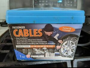 Peerless Passenger Car Tire Traction Snow Chains