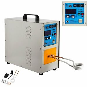 15kw 30 100khz High Frequency Induction Heater Furnace Melting Heating 2200