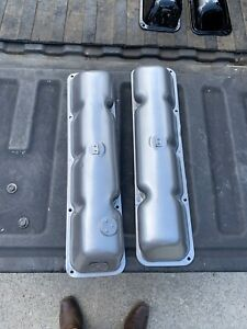 Rh Lh Engine Valve Covers V 8 290 304 343 360 390 401 American Motors Jeep Oem