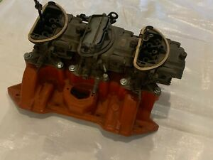 1969 1970 Mopar 440 6 Six Pack Intake Carbs Air Cleaner Filter Carburetors