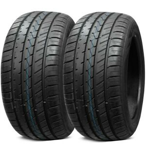 2 New Lionhart Lh five 295 35zr20 105y All Season Ultra High Performance Tires
