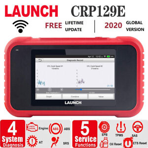 Launch Scan Tool Crp129e Obd2 Scanner Abs Srs Engine Transmission Code Scanner