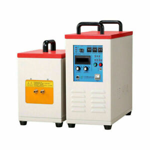 15kw 220v Frequency Induction Heater Furnace Aluminum Alloy Melting Welding Lab