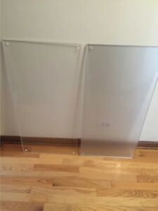 Plexiglass 37 X 18 Acrylic Sheet 1 2 Thick Both Clear And Frosted Available