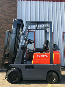 Toyota 5fgc15 3000 Lb Cushion Tire Forklift Lifttruck Hilo