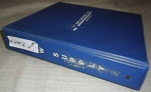 Ford 1100 1200 1300 1500 1700 1900 Tractor Parts Manual Book 1979 1980 1981 1982