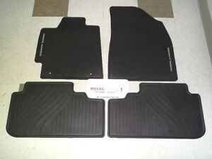 Toyota Highlander 08 13 Factory All Weather Rubber Floor Mats Genuine Oem Oe