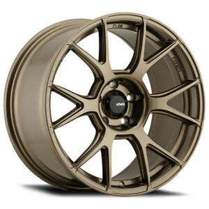 Staggered Konig 56bz Ampliform F 19x8 5 R 19x9 5 5x4 5 30mm Bronze Wheels Rims