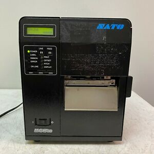 Sato M84pro 2 Ex1 Point Of Sale Barcode Thermal Printer Tested Working