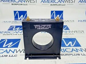 Current Transformer Ratio 600 5a Cat 7 Sft 601 Rf 1 0 600v New