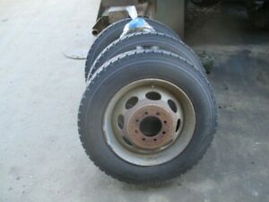 19 5 Steel Rims And Tires Off Of 2007 Dodge 3500 Dually