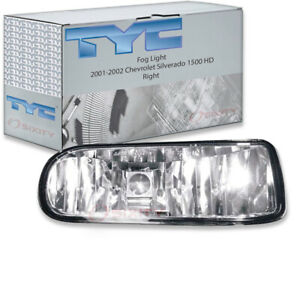 Tyc Right Fog Light Assembly For 2001 2002 Chevrolet Silverado 1500 Hd Cd