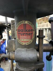 Walker Turner Rare Vintage Drill Press For Wood And Metal
