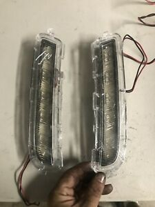 Scion Xb 2008 2010 Right Left Daytime Running Lights Bumper Driving Lamps Pair