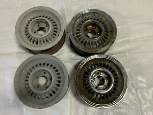 1957 Cadillac Sabre Wheels Rims Set Of 4 Four Eldorado Seville Biarritz