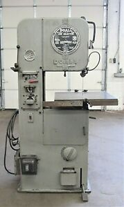 Doall Ml 16 Vertical Band Saw Id S 031