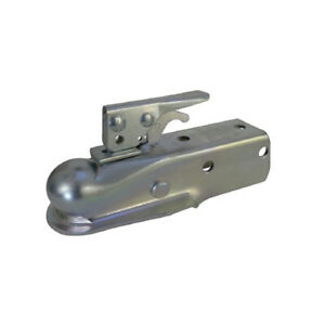 Impact Implements Straight Tongue Trailer Coupler 2 Inch Ball Hitch 3500lbs