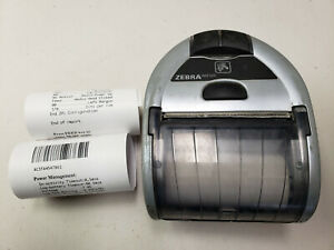 Zebra Imz320 Mobile Wireless Bluetooth Thermal Receipt Printer M3i 0ub00010 00