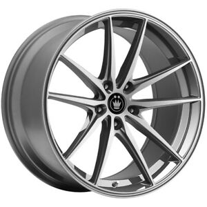 4 Konig 37o Oversteer 19x8 5 5x120 35mm Opal Wheels Rims 19 Inch