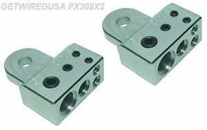 2 Pack Stinger Gm Gmc Side Post Battery Terminals 1 0 4 8 Gauge Awg Wire