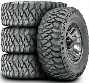 4 New Mickey Thompson Baja Mtzp3 Lt 295 70r17 Load E 10 Ply M T Mud Tires
