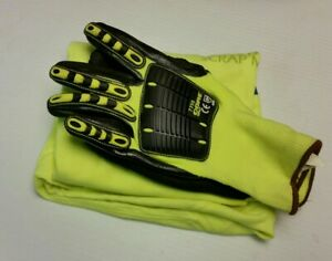 Ogre 7735 Large Impact Gloves Bonus Size L T shirt Pnw Scrap Metal Recycling