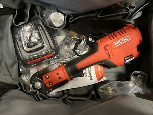New Open Box Ridgid Pex One 12v Cordless Crimper Set