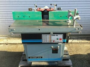 Delta Invicta Ds 15 Sliding Table Shaper Moulder With Micro Fence 1 Spindle