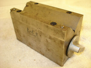 Brown And Sharpe V block 750d see Other Listings Many More Machinist Tools