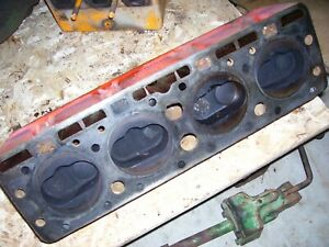 Vintage Ji Case Sc Tractor Engine Head Assembly 1950