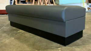 Restaurant Backless Upholstery Bench Made In Us Any Size You Need