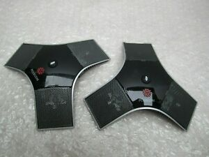 Pair Polycom 2201 23313 003 Hdx External Microphone Conference Microphone Array