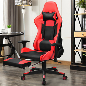 Massage Gaming Chair Reclining Racing Office Chair