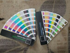 Pantone Swatch Book Set Solid Coated Uncoated Formula Guide 4th Edition 2006