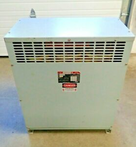 Fpe Federal Pacific 75 Kva 3 Phase Dry Transformer 480 To 208y 120 Volt 50347 m