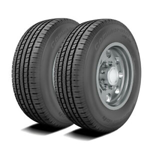 2 Bfgoodrich Commercial T a All season 2 Lt265 70r17 121 118r E 10 Ply Tires