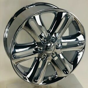22 Chrome Ford F150 Style Wheels Rims Fits 2004 2020 Fx2 Fx4 Lariat King Ranch